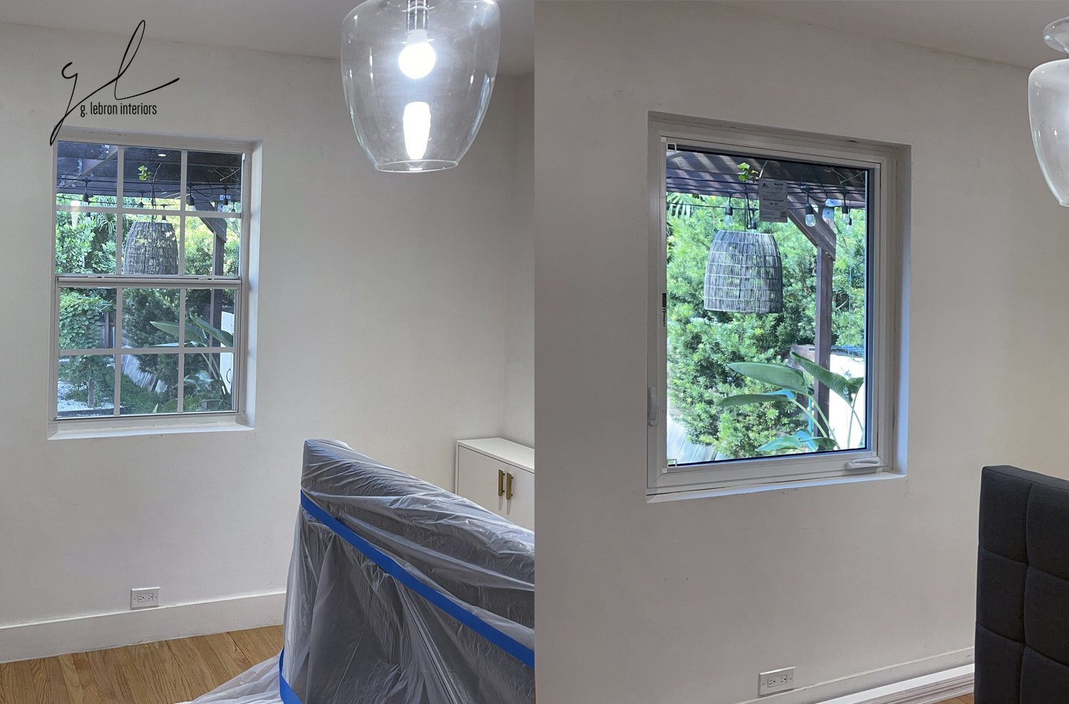 Window Work Before and After